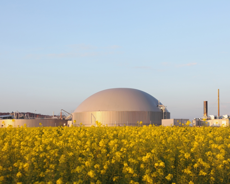 Biokol test i biogasanläggning på Gotland